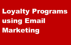 loyalty programs with email marketing
