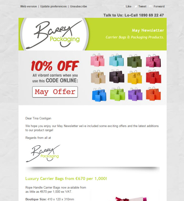 Newsletter Template Designs To Match Your Business Brand