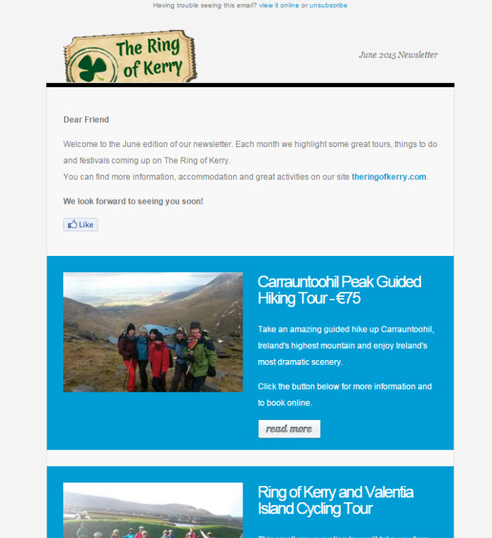Irish email marketing