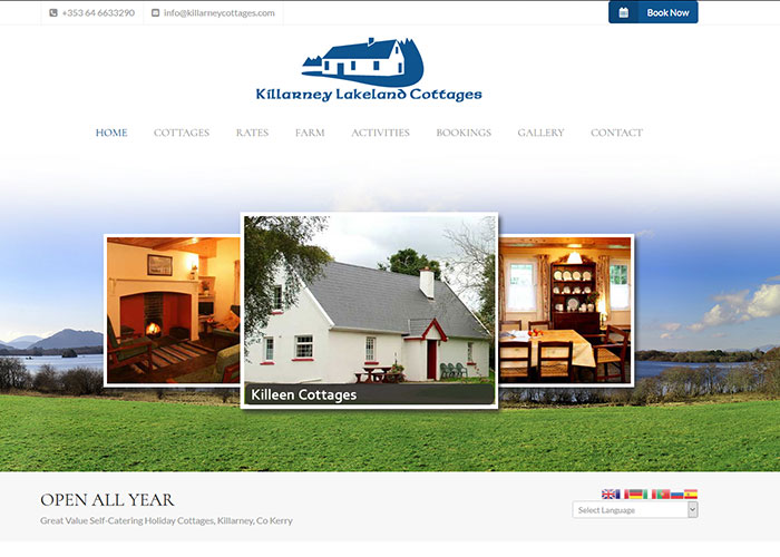Kerry website design